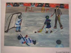 Рисунки о хоккее