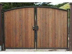 Деревенские ворота фото