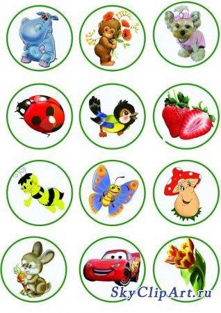 Маркировка на шкафчики в детском саду картинки скачать 11