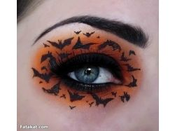 Аквагрим хэллоуин