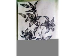 Рисунок карандашом природа