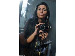 Картинки красивых девушек с фотоаппаратом