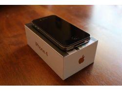 Айфон 4 черный фото