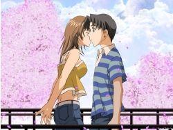 Картинки про любовь поцелуи