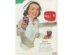 Реклама кока колы фото