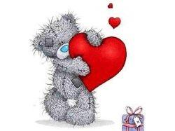Мишки тедди любовь