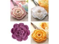 Как сделать цветок фото 8