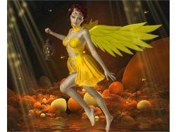 Картинки ангелов с крыльями 4