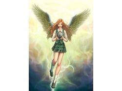 Картинки ангелов с крыльями 7