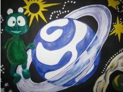 Конкурс рисунков космос глазами детей 2