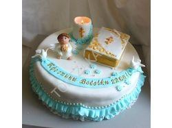 Торт на крестины фото 1