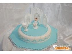 Торт на крестины фото 2