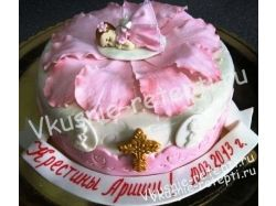 Торт на крестины фото 3