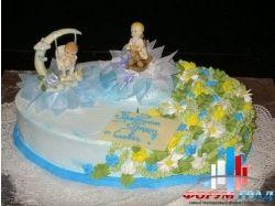 Торт на крестины фото 5