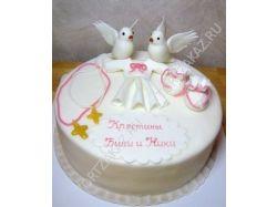 Торт на крестины фото 6