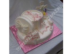 Торт на крестины фото 7