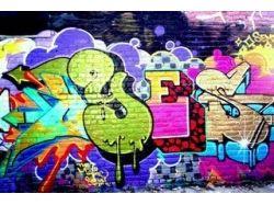 Рисунки карандашом для начинающих граффити 2