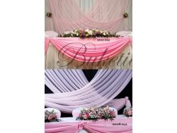 Розовая свадьба фото 2