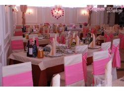 Розовая свадьба фото 6