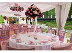 Розовая свадьба фото 7