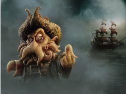 Рисунки старинных кораблей 1