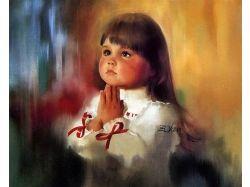 Картины с изображением детей 1