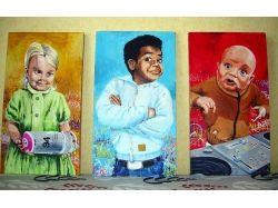 Картины с изображением детей 5