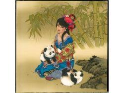 Картины с изображением детей 7