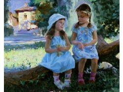 Картины с изображением детей 8