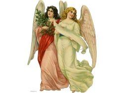Ангелочки для декупажа