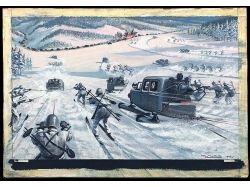 Картинки про лыжи 8