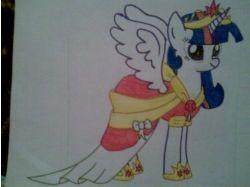 Рисунки пони 5