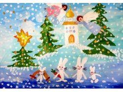 Рождество рисунки детей 5