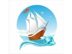 Корабль рисунок 5