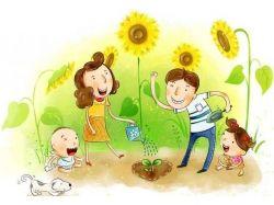 Семья картинки для детей 5