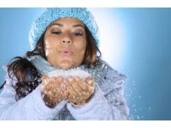 Фото женщины зимой 2