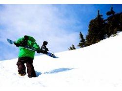 Обои snowboard 1