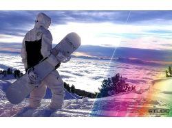Обои snowboard 6