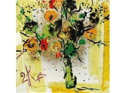 Нарисованный букет цветов 1