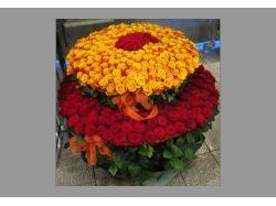 Нарисованный букет цветов 5