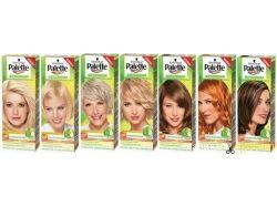 Палитра оттенков краски для волос палет 2