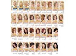 Палитра оттенков краски для волос палет 8