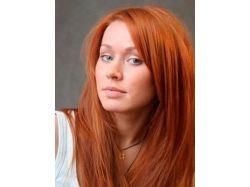 Темный рыжий цвет волос фото 3