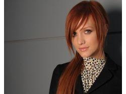 Темный рыжий цвет волос фото 5