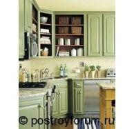 Кухни фисташкового цвета фото 1