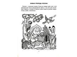 Растения и животные россии