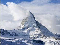 Фото снежные горы