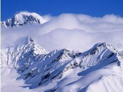 Фото снежные горы 2