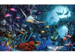 Картинки морское дно 2
