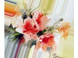 Нарисованные картинки цветов
